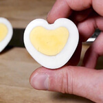 Heart-Shaped Egg