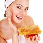 Honey on Face